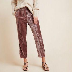 Tina jo velvet pants from Anthropologie